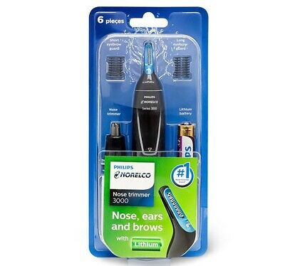 Philips Norelco NT3000 Nose, Series 3000 Ears and brows Trimmer -Freeship&Track-
