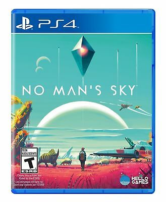 Brand New Sealed Ps4 No Man's Sky Sony Playstation 2016 Action Adventure Game