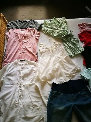 Maternity clothes size 10 - 12 mixed