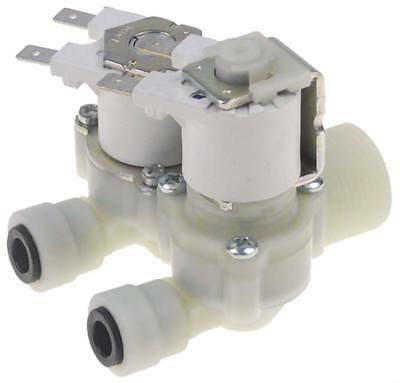 Rpe Solenoid Valve Exit Jg John Guest 8mm John Guest 8mm 2-fold Straight White 8