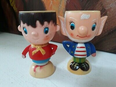 Vintage NODDY and BIG EARS Plastic Egg Cups