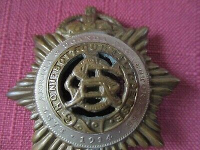 British WW1 Military Badges,1914 East Africa & Uganda Protectorate Cap Badge