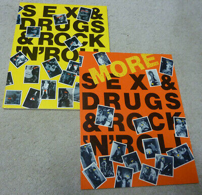 (More) Sex & Drugs & Rock 'N' Roll photography book or rock stars exposed RARE