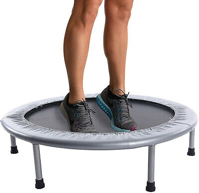 Folding Mini Trampoline Fitness Home Gym Jump Workout Stability Training Tool
