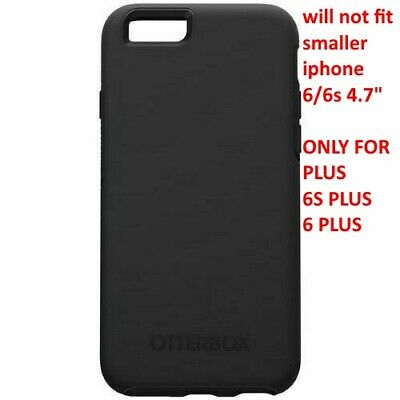 NEW OEM Otterbox Symmetry Case Cover For iPhone 6S PLUS 6 PLUS OR 6S/6 - Black