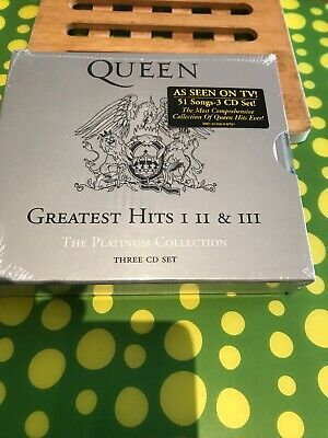 Queen Greatest Hits 1, 2 And 3 Fatbox New Sealed USA Import Cd