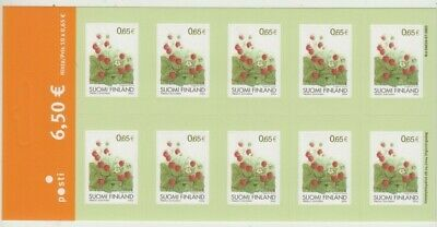 Stamps Finland 2004 flowers 6.5 Euro peel & stick sheetet of 10, cheap
