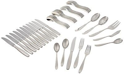 Reed & Barton Palmer 18/10 Stainless Steel 65-Piece Set, Service for 12