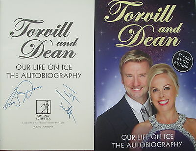 Torvill And Dean-Our Life On Ice-Signed Book-Signed Autobiography