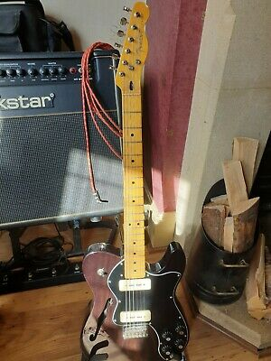 Fender Telecaster Modern Player Thinline Deluxe - upgraded bare knuckle P90 pups