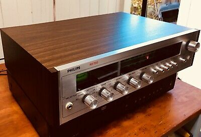 Philips RH750 Vintage Stereo Receiver Amplifier Made In Japan