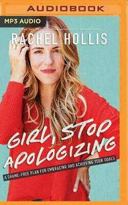 NEW Girl, Stop Apologizing By Rachel Hollis CD in MP3 Format Free Shipping