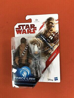 Star Wars Force Link Chewbacca and Porg figure MISB