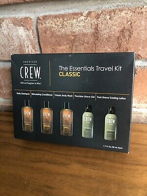 AMERICAN CREW  Toiletries Men's Kit Gift Set