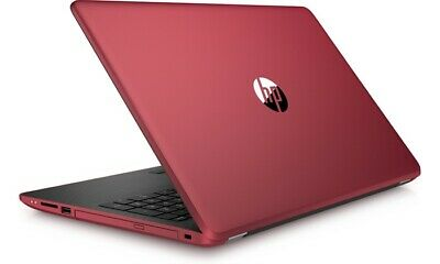 "HP 15.6"" Touchscreen Laptop with Intel Pentium N3710 Quad-Core Windows 10 - Red"