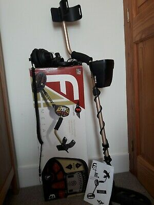 Fisher F4 metal detector, Fisher headphones and Coil - never used