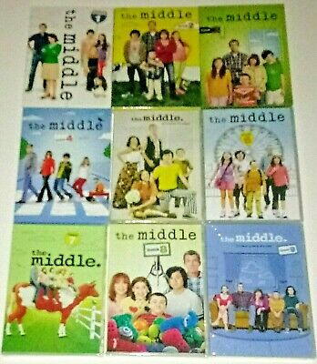 Brand New! The Middle: Complete Seasons 1-9. 27-Disc Bundled Dvd Set. Ships Free