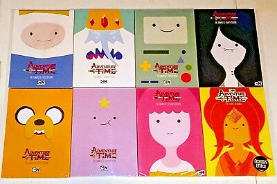 Brand New! Adventure Time: The Complete Series, 1-8. 21 Disc Bundled Dvd Set