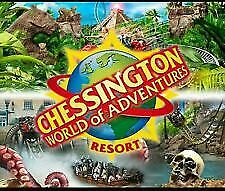 2 X Tickets for Chessington World of Adventure - TUESDAY 23rd APRIL 2019 EASTER