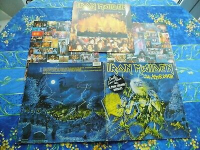IRON MAIDEN  ♫ LIVE AFTER DEATH w/booklet  NM  ♫ RARE LP VINYL