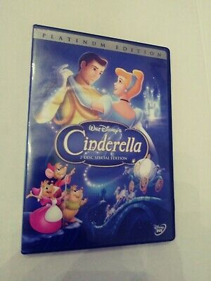 Cinderella platinum edition 2 disc dvd set. tested works well in good condition