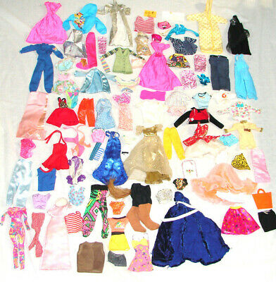Barbie Doll Clothes Lot of 88 pc Fashion Some My Scene Accessories Sweater Dress