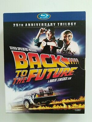 Back to the Future: 25th Anniversary Trilogy (Blu-ray Disc, 2010, 6-Disc Set, UK