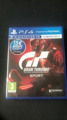 GRAN TURISMO SPORT PS4 Playstation 4