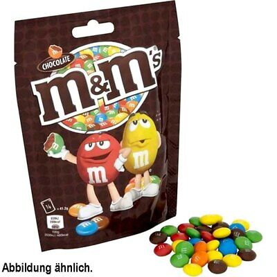 3x M&M Chocolate Beutel á 275g=825g MHD:8/19