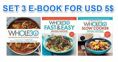 The Whole 30 CookB00k Guide to Total Health - SET 3 Digital B00k - PDF