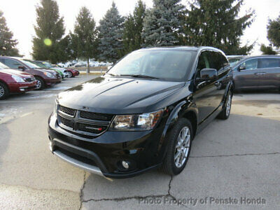 2017 Dodge Journey GT AWD GT AWD 4 dr SUV Automatic V6 Cyl Pitch Black Clearcoat