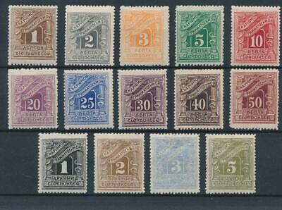 [36175] Greece 1902 Good postage due set Very Fine MH stamps