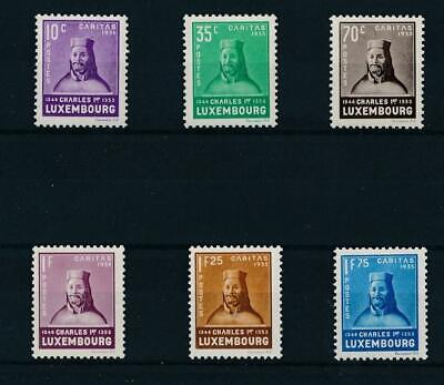 [36502] Luxembourg 1935 Good set Very Fine MNH stamps Value $165