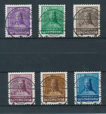 [36503] Luxembourg 1935 Good set Very Fine used stamps Value $135