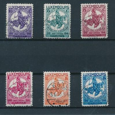 [36505] Luxembourg 1934 Good set Very Fine used stamps Value $165