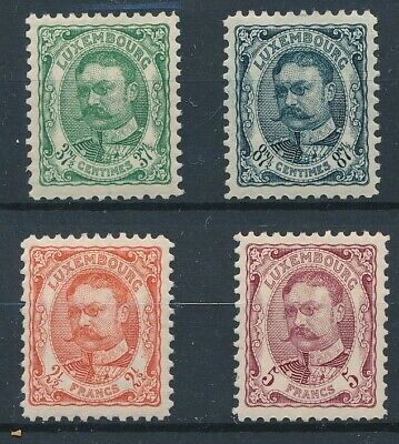 [36521] Luxembourg 1906/15 Good lot Very Fine MH stamps