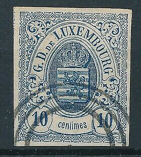 [36533] Luxembourg 1859/63 Good classical stamp Very Fine used