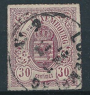 [36535] Luxembourg 1865/75 Good classical stamp Very Fine used