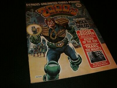 2000AD sci fi special special.  Comic Lot Featuring judge dredd  nice GRADE