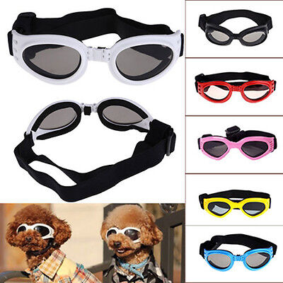 1 pair SMALL PET DOG Goggles Doggles  SUNGLASSES UV Eye Protection BS