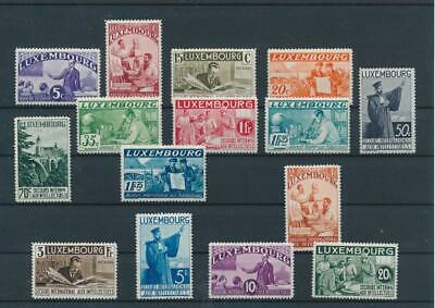 [G43601] Luxembourg 1935 Good RARE set Very Fine MH stamps V:$860