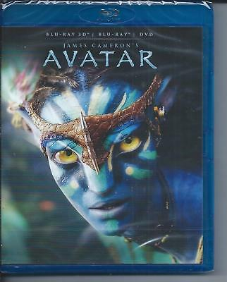 AVATAR Blu ray 3D +Blu Ray  + DVD VF James Cameron Neuf sous cellophane
