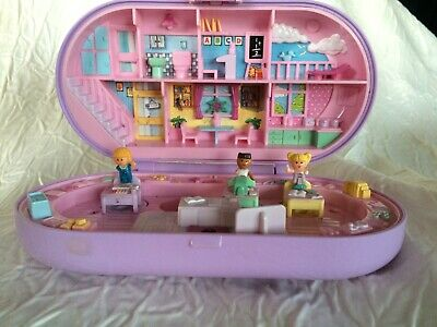 Polly pocket stamping school avec 3 personnages