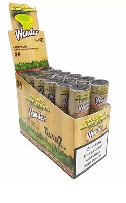 Cyclones Xtra Slo Wonder Flavoured Pre Rolled Cone DANK 7 Tip (24 Pieces PACK)