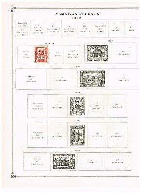 Dominican Republic stamps - 1922 -1949 (14)   on Scott's pages -