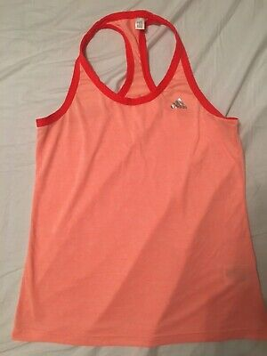 0ca9237ead4 ADIDAS CLIMALITE CROPPED top white size 10-12 racer back - $1.30 ...