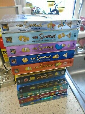 The Simpsons Dvd Box Sets - Series 1 - 9 + Series 11