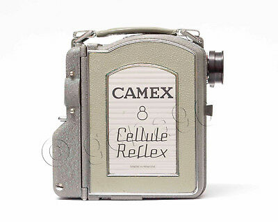 CAMEX 8mm Film Kamera  Cellule Reflex nur Body Nr.1128