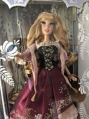 Disney Store Aurora Sleeping Beauty 60th Anniversary Doll Limited Edition 4500