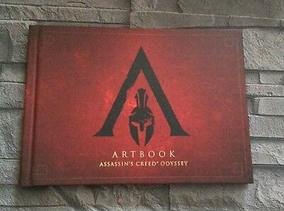+++TOP PS4 Assassins Creed Odyssey Artbook +++